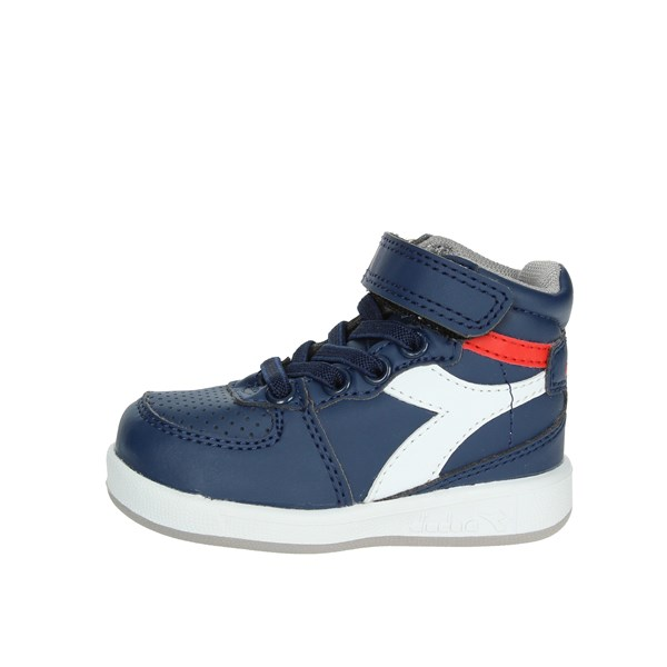 Diadora Shoes High Sneakers Blue/White 101.173761 C5901