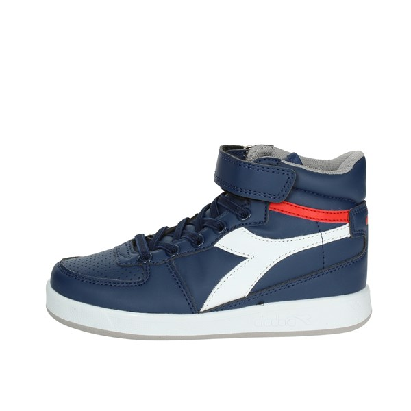Diadora Shoes High Sneakers Blue/White 101.173760 C590
