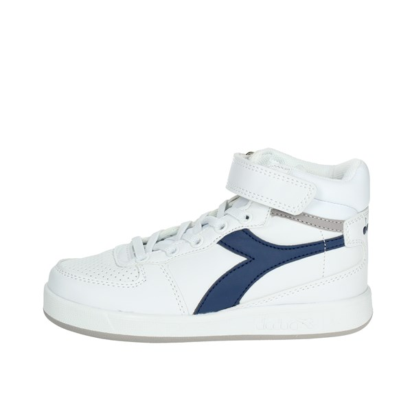 Diadora Shoes High Sneakers White/Blue 101.173760 60024