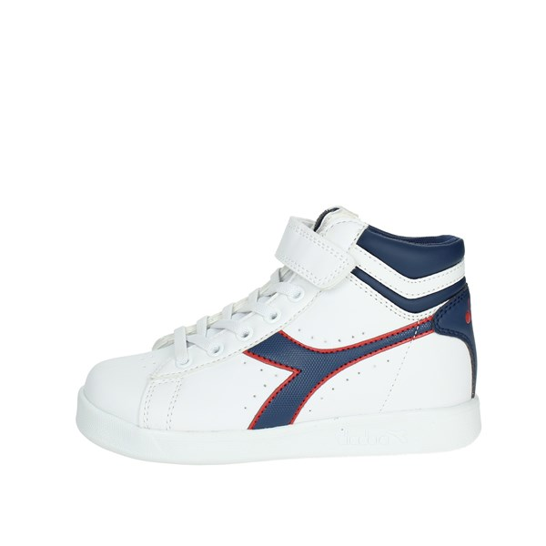 Diadora Shoes High Sneakers White/Blue 101.173763 C7628