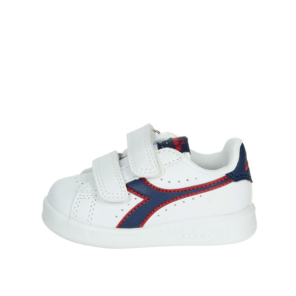 Diadora Shoes Low Sneakers White/Blue 101.173339 C7628