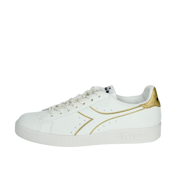 Diadora Shoes Sneakers White/Gold 101.173097 C3250