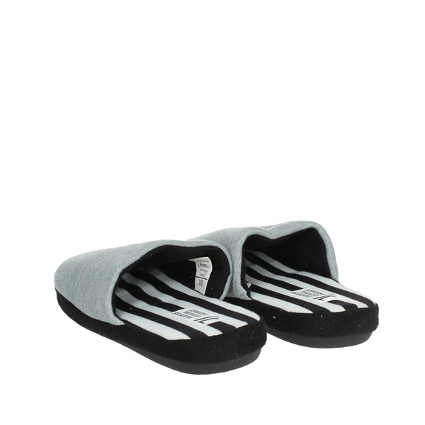 Juventus Shoes Clogs Grey/Black S20019