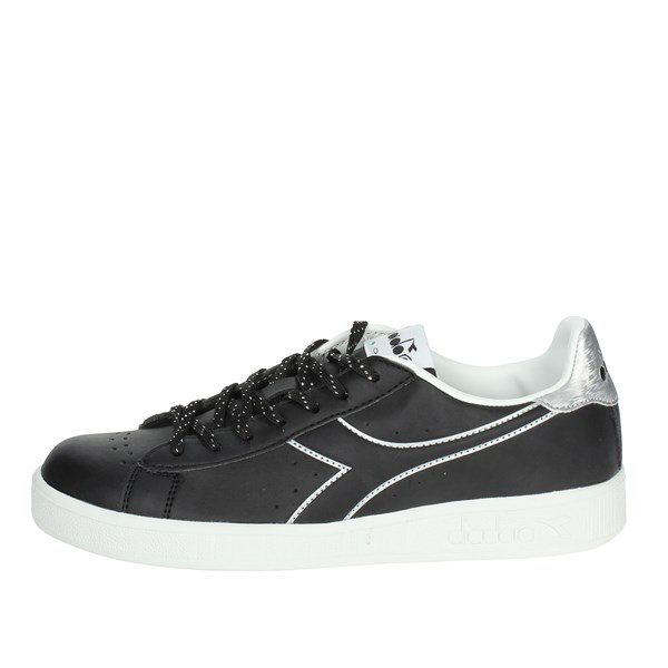 Diadora Shoes Sneakers Black/Silver 101.173097 C0787