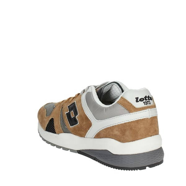 Lotto Leggenda Shoes Sneakers Brown leather T7388