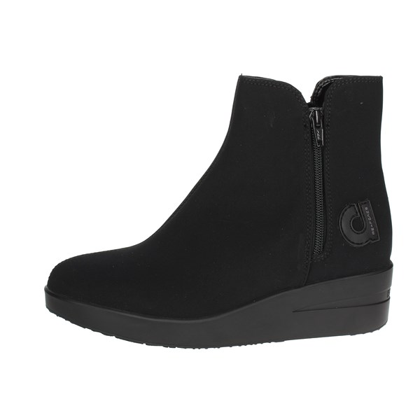 Agile By Rucoline  Shoes Ankle Boots With Wedge Heels Black A-211