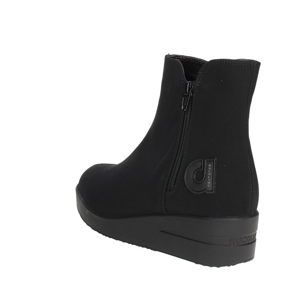 <Agile By Rucoline  Shoes Ankle Boots With Wedge Heels Black A-211