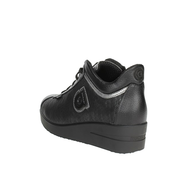 <Agile By Rucoline  Shoes Low Sneakers Black F-226