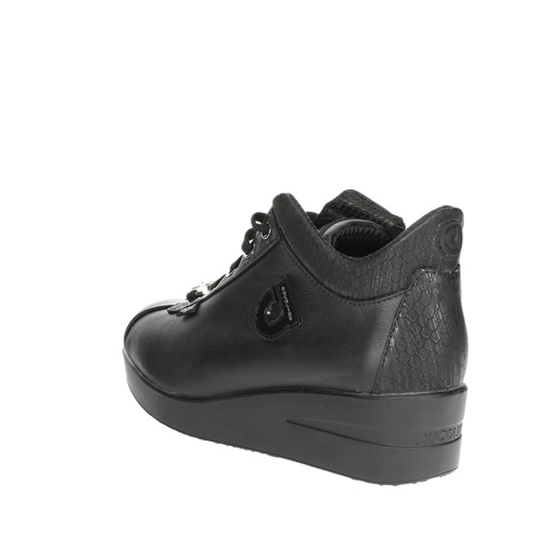 <Agile By Rucoline  Shoes Low Sneakers Black D-226