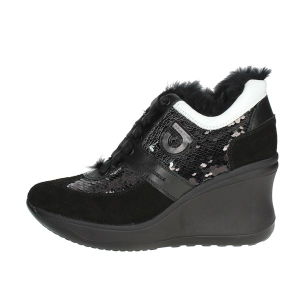 Agile By Rucoline  Shoes High Sneakers Black C-1800