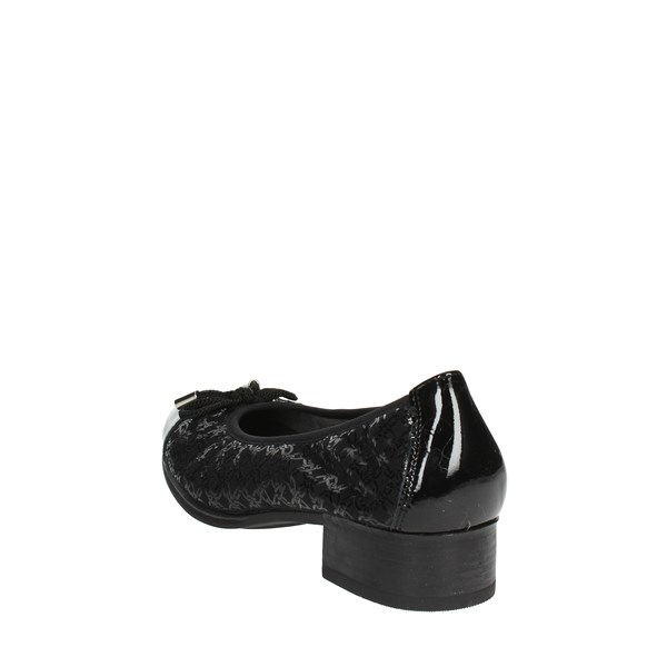 Pitillos Shoes Ballet Flats Black 5381