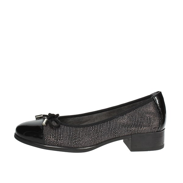 Pitillos Shoes Ballet Flats Black 5380