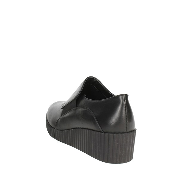 The Flexx Shoes Loafers Black D2037 09