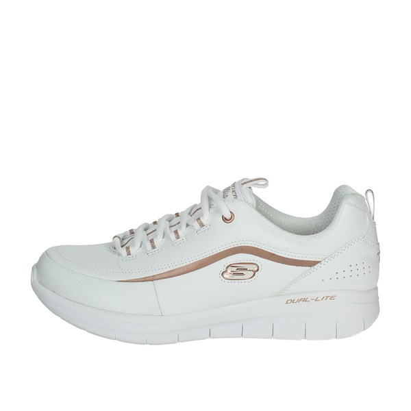 Skechers Scarpe Donna Sneakers BIANCO 12933/WTRG