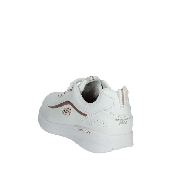 <Skechers Scarpe Donna Sneakers BIANCO 12933/WTRG