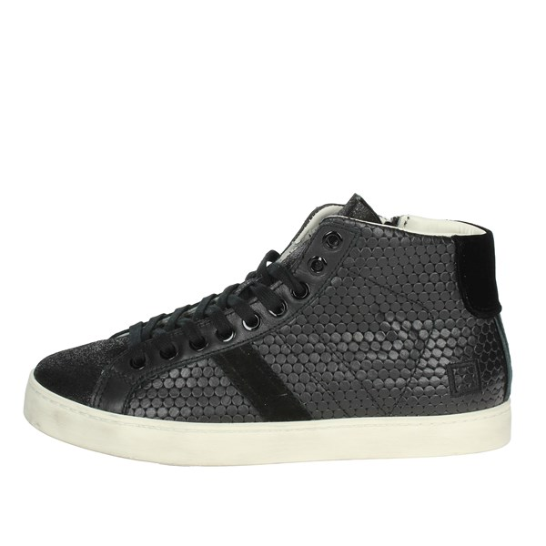 D.a.t.e. Shoes High Sneakers Black I18-193