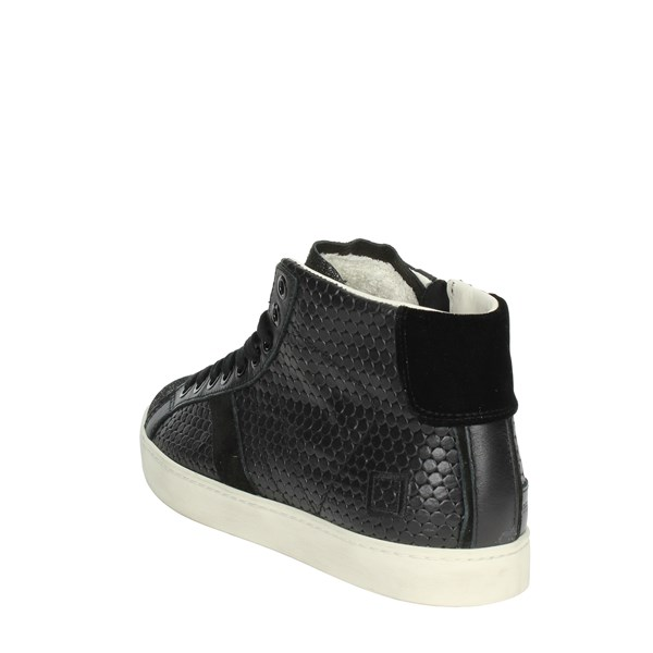 <D.a.t.e. Shoes High Sneakers Black I18-193