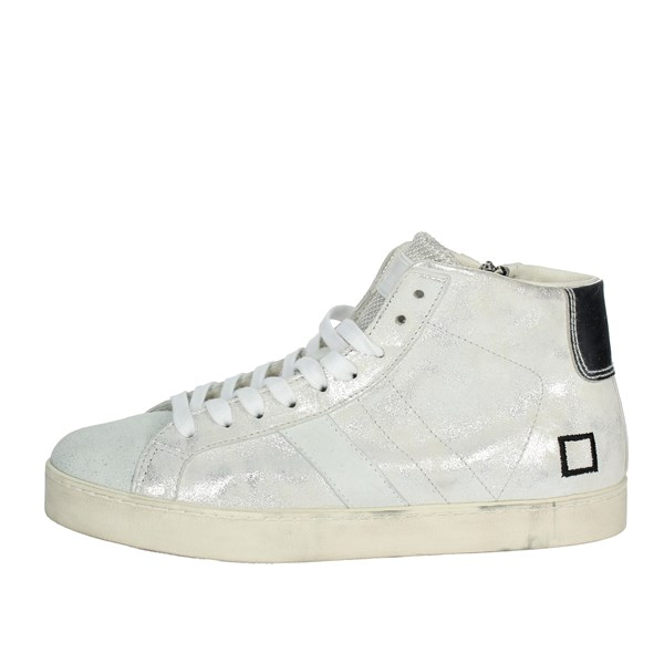 D.a.t.e. Shoes High Sneakers Silver I18-194