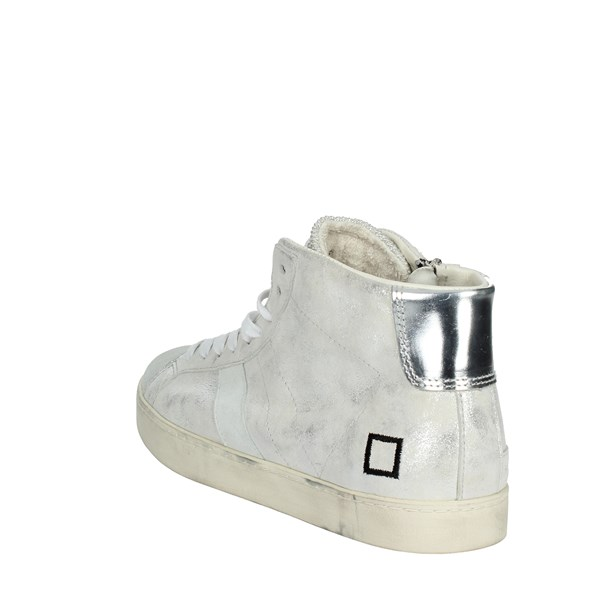 <D.a.t.e. Shoes High Sneakers Silver I18-194