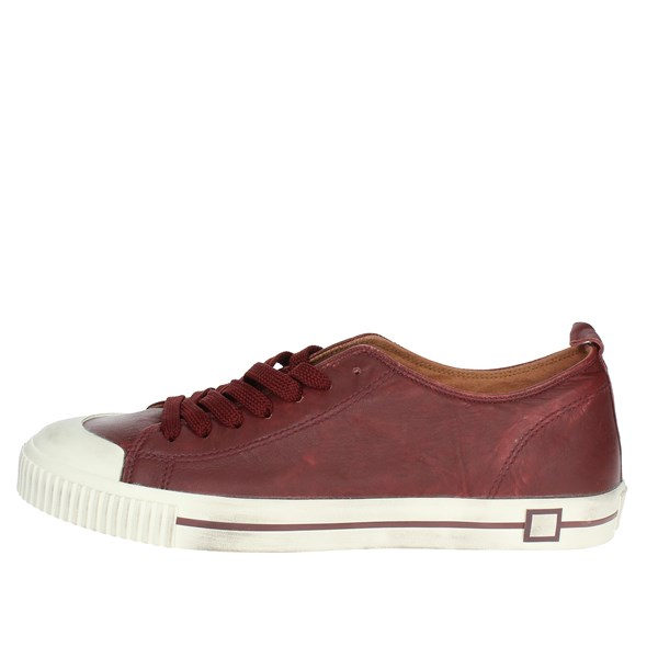 D.a.t.e. Shoes Low Sneakers Burgundy I18-221