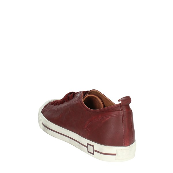 <D.a.t.e. Shoes Low Sneakers Burgundy I18-221