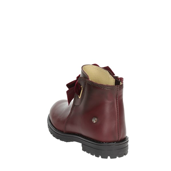 <Melania Shoes Ankle Boots Burgundy ME2620D8I.C