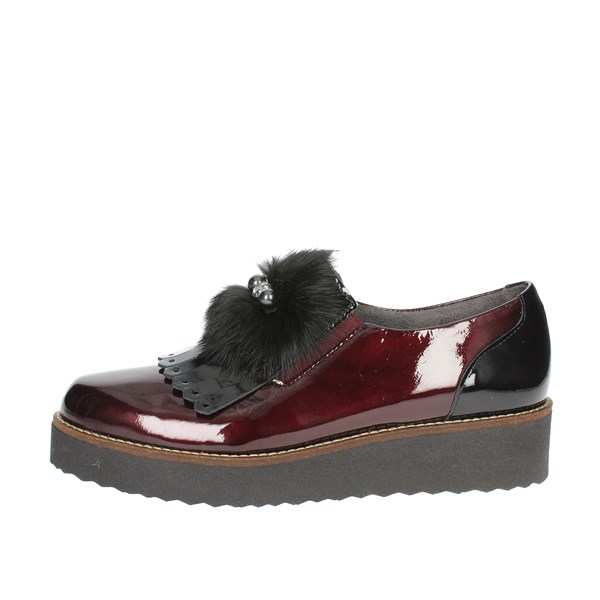 Pitillos Shoes Parisian Burgundy 5410