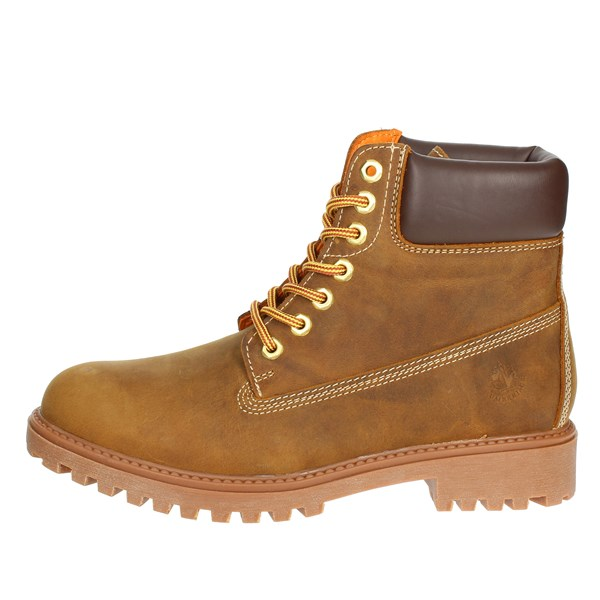 Lumberjack Shoes Boots Brown leather SM00101- 019