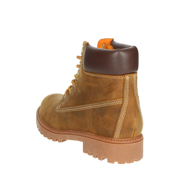 <Lumberjack Shoes Boots Brown leather SM00101- 019