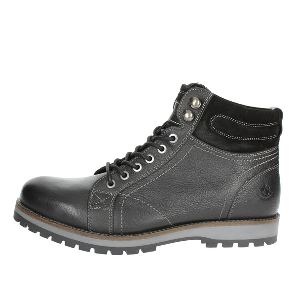 Lumberjack Shoes Boots Black SM33501-003