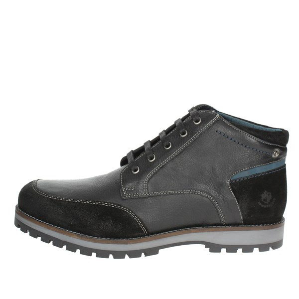 Lumberjack Shoes Laced Black SM33503-002