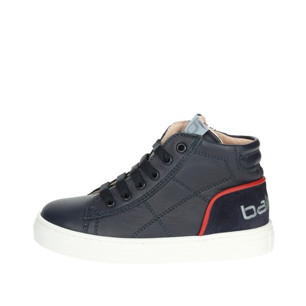 Balducci Shoes High Sneakers Blue BUTTER501