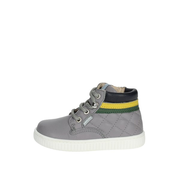 Balducci Shoes High Sneakers Grey MSPORT1804