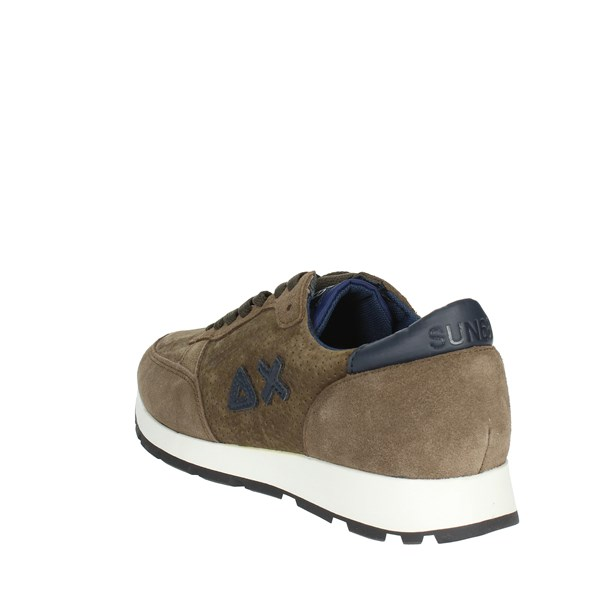 <Sun68 Shoes Sneakers Brown Z28106