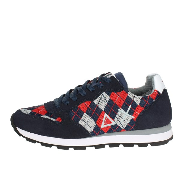 Sun68 Shoes Sneakers Blue/Red Z28102