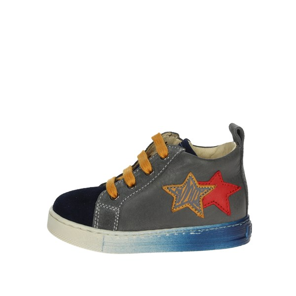 Falcotto Shoes High Sneakers Blue/Grey 0012012819.01.1C17