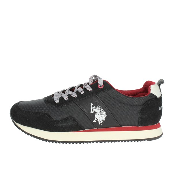U.s. Polo Assn Shoes Low Sneakers Black NOBIL4215S8/HN2