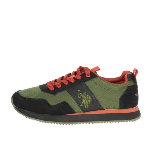 U.s. Polo Assn Shoes Low Sneakers Dark Green NOBIL4215S8/HN2