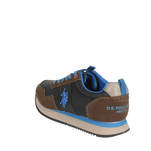 <U.s. Polo Assn Shoes Sneakers Brown NOBIL4215S8/HN2