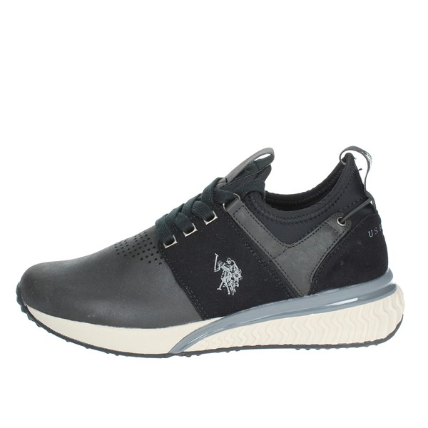 U.s. Polo Assn Shoes Low Sneakers Black FELIX4048S8/YT1