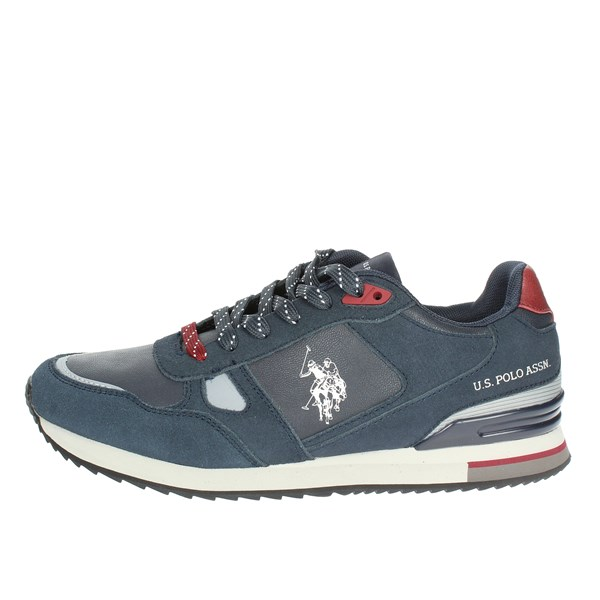 U.s. Polo Assn Shoes Low Sneakers Blue FERRY4083W8/SY1