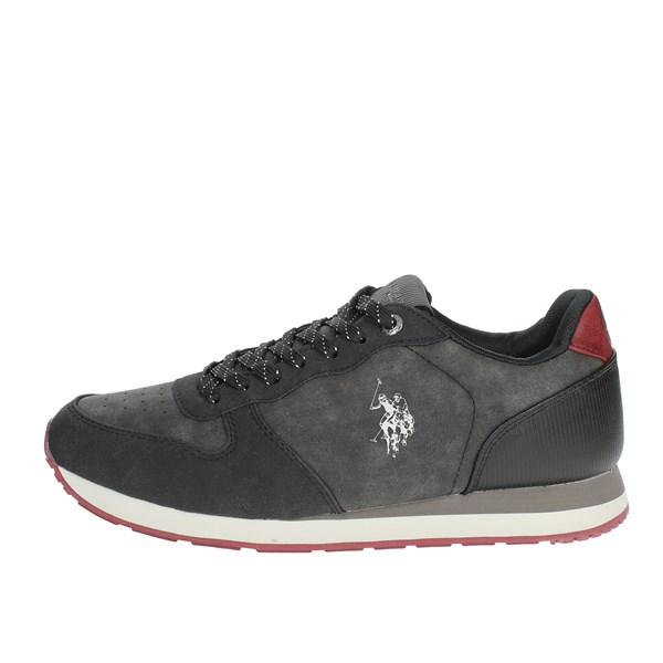 U.s. Polo Assn Shoes Low Sneakers Black WILYS4181W7/Y2