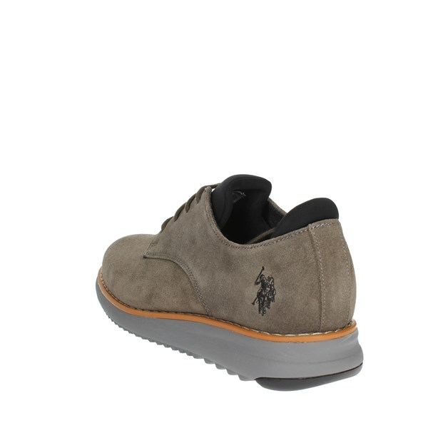 U.s. Polo Assn Shoes Brogue Brown Taupe YAGI4079W8/S1