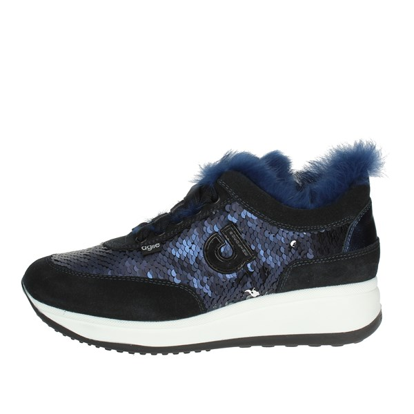 Agile By Rucoline  Shoes Low Sneakers Blue L-1304