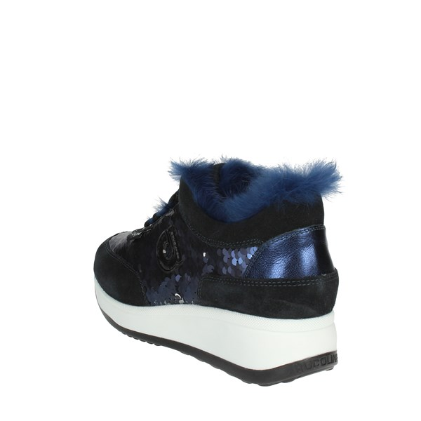 <Agile By Rucoline  Shoes Low Sneakers Blue L-1304