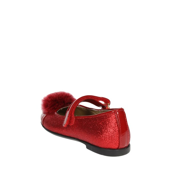 Viviane Shoes Ballet Flats Red 8087-3
