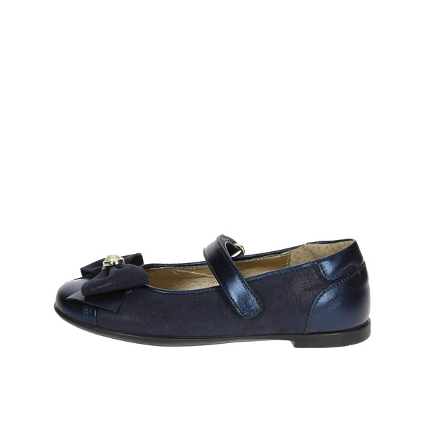 Viviane Shoes Ballet Flats Blue 8658-1