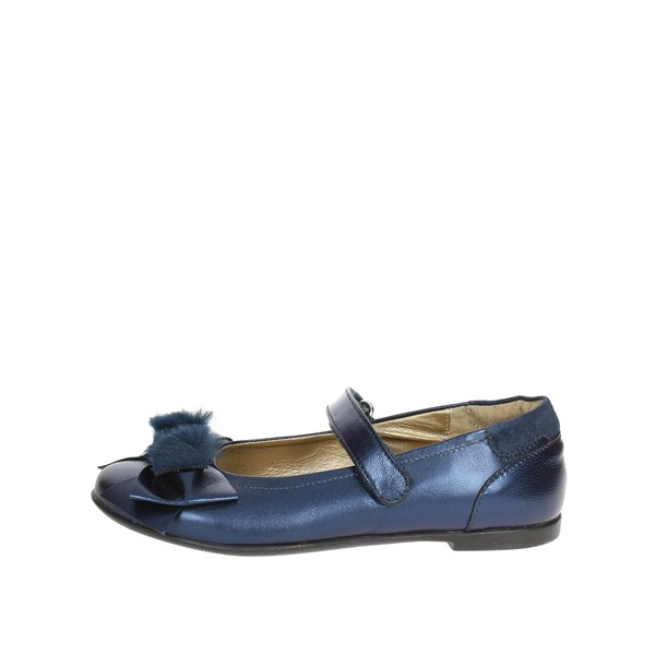 Viviane Shoes Ballet Flats Blue 8658-3