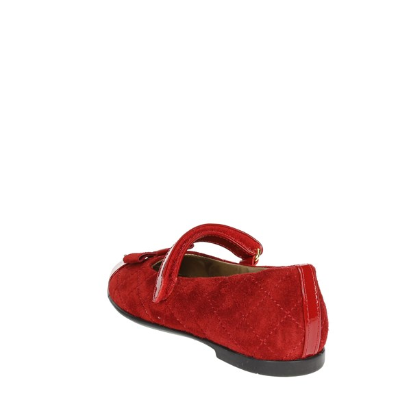 Viviane Shoes Ballet Flats Red 8000-5