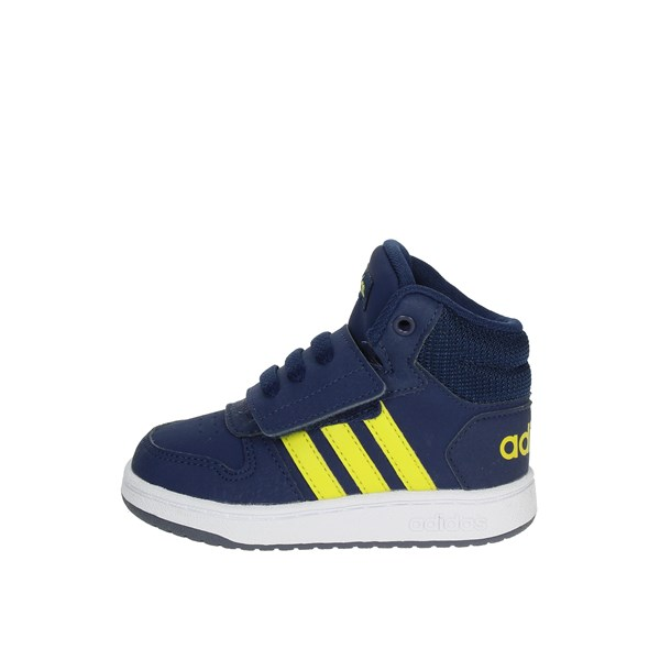Adidas Shoes High Sneakers Blue B75947